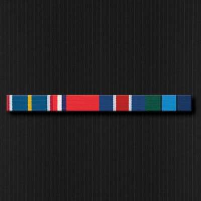 Ribbon Bar Full Size With Four Ribbons