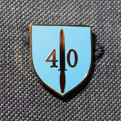 40 Commando RM Lapel Badge