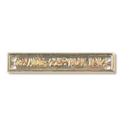 5th Aug - 22nd Nov 1914 Miniature Bar (for 1914 Star)