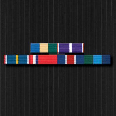 Ribbon Bar Full Size With Six Ribbons
