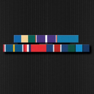 Ribbon Bar Full Size With Seven Ribbons