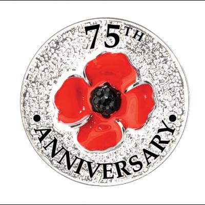 Poppy 75th Anniversary Pin