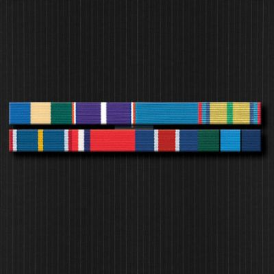 Ribbon Bar Full Size With Eight Ribbons