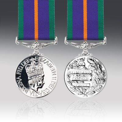 Accumulated Campaign Service Medal Full Size Loose