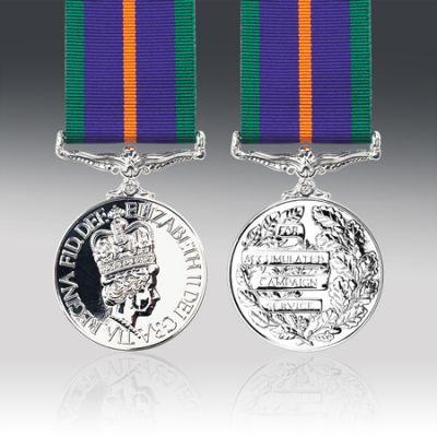 Accumulated Campaign Service Medal Miniature Loose