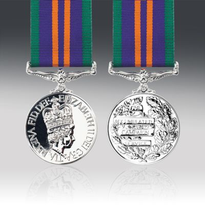 Accumulated Campaign Service Medal 2011 Version Full Size Loose