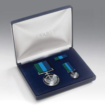 Allied Special Forces Medal Presentation Set