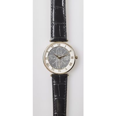 The 1921 Florin Antique Watch with Leather Strap