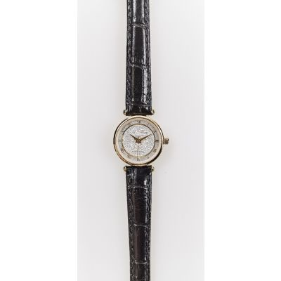 The 1921 Sixpence Antique Watch with Leather Strap