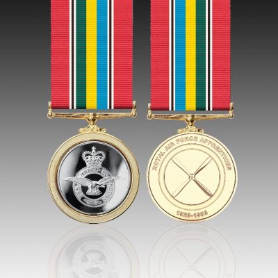 RAF Apprentices' Full Size Medal