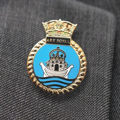 HMS Ark Royal Lapel Badge