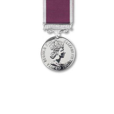 Army LS & GC EIIR Medal Miniature Loose