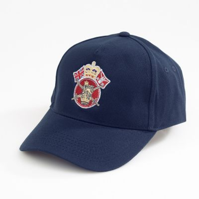 Crown & Country Service Baseball Hat Navy Blue
