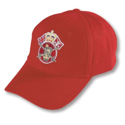 Crown & Country Service Baseball Hat Classic Red