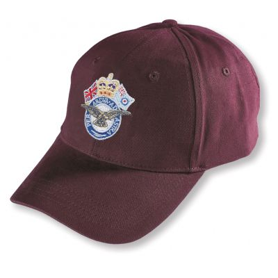 Crown & Country Service Baseball Hat  Burgundy