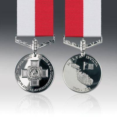 Battle For Malta Full Size Medal