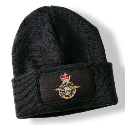 Royal Air Force Black Acrylic Beanie Hat