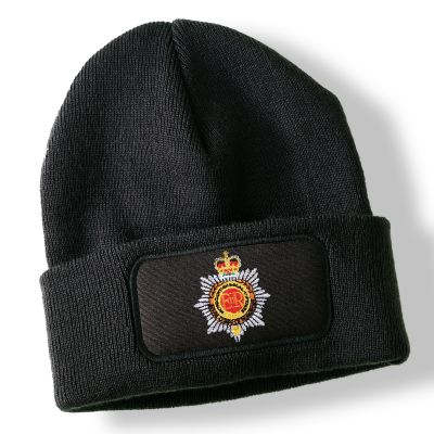 Royal Corps of Transport Black Acrylic Beanie Hat