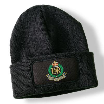 Royal Military Police Black Acrylic Beanie Hat
