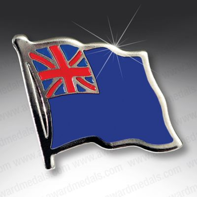 BLUE ENSIGN LAPEL BADGE