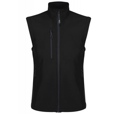 Crown & Country Regatta Honestly Made Recycled Soft Shell Bodywarmer Black