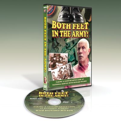 Both Feet In The Army DVD