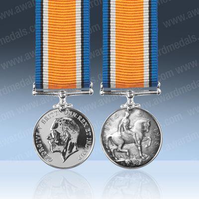British War Medal Miniature Loose