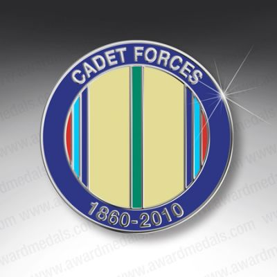 CADET FORCES LAPEL BADGE