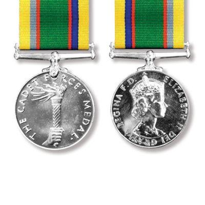 Cadet Forces EIIR Medal Miniature Loose