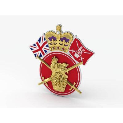 British Army Personalised Service Jewel