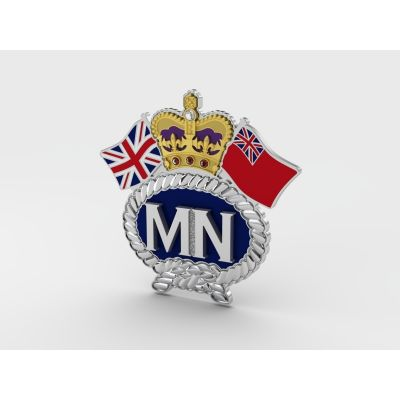 Merchant Navy Personalised Service Jewel