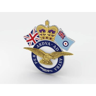 Royal Air Force Personalised Service Jewels