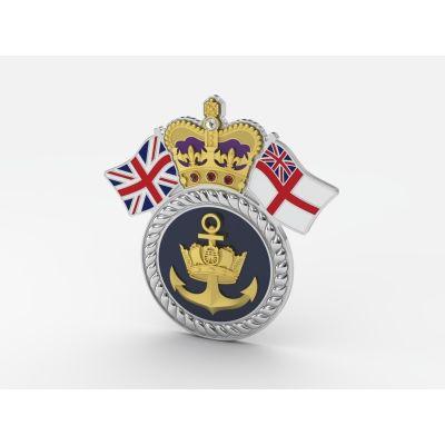 Royal Navy Personalised Service Jewel