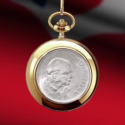Churchill Crown Pocket Watch