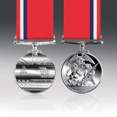 Cold War Full Size Medal