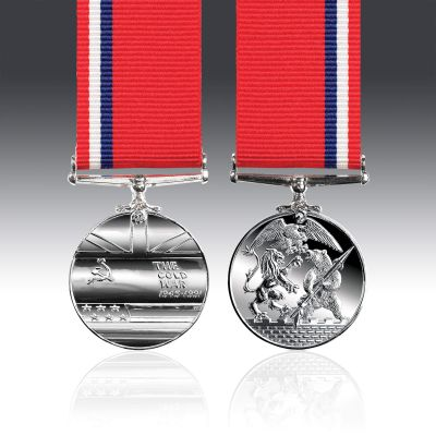 Cold War Miniature Medal