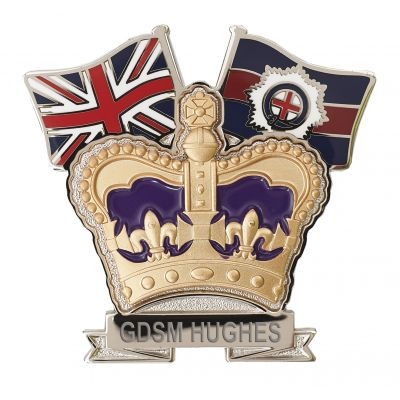 Coldstream Guards Crown & Country Lapel Badge