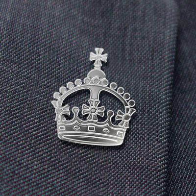 Coronation Lapel Badge
