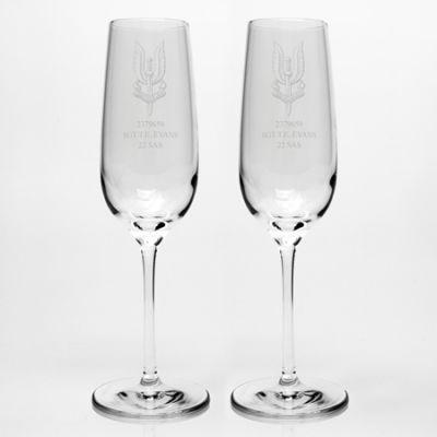 Dartington Champagne Flute Pair