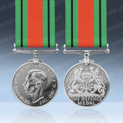 Defence Medal Full Size Loose