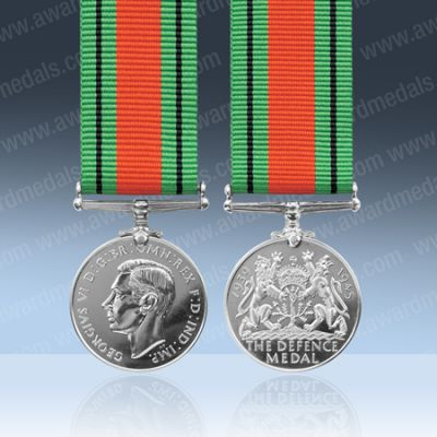 Defence Medal Miniature Loose
