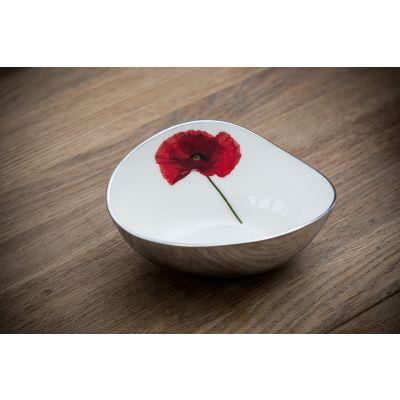 Azeti Poppy Oval Bowl - Small