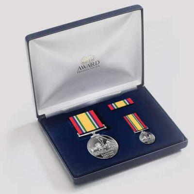 Eastern Service Medal Presentation Set