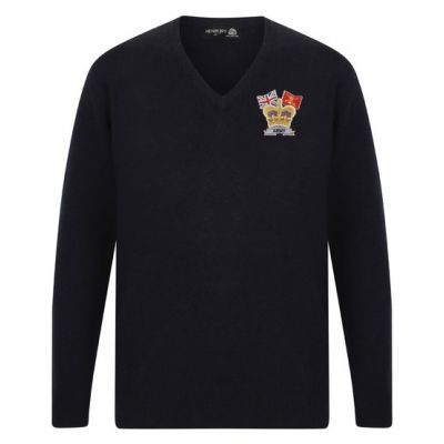 HENBURY V NECK SWEATER CROWN & COUNTRY