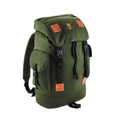 Personalised Urban Explorer Rucksack Military Green