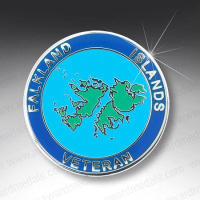 FALKLAND ISLANDS VETERAN  LAPEL BADGE
