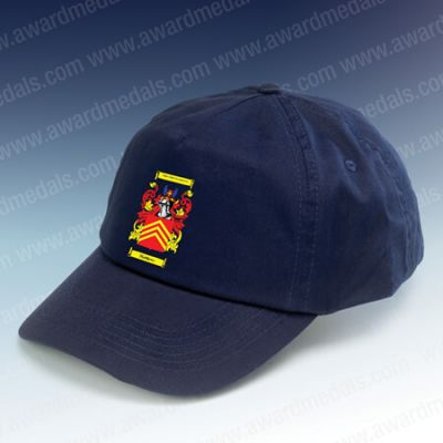 Personalised Baseball Hat Navy Blue