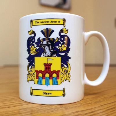 Personalised Family Crest Mug