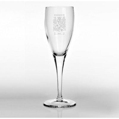 Family Crest 6oz Champagne Flute