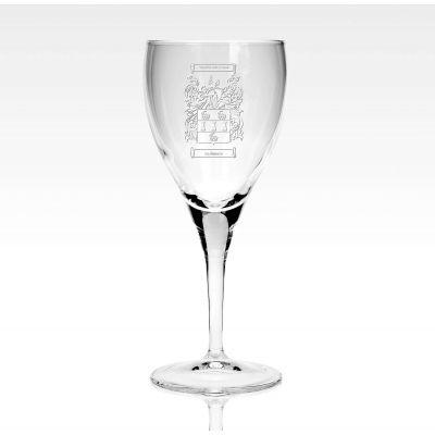 Family Crest 8oz Wine Glass